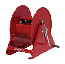 """REELCRAFT H18006 M 3/8"""" x 100' 5000 psi  Pressure Cleaning Hand Crank Hose Reel"""