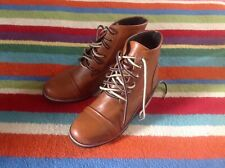 brand new mens leather style designer boots size 42 9 great for autumn