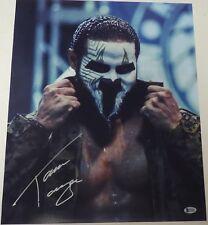 Tama Tonga Signed 16x20 Photo BAS COA New Japan Pro Wrestling Bullet Club NJPW 3