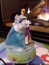 Cinderella Disney Gemmy Musical Spinning Figurine