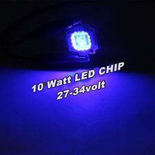 USA Lot of 35pcs NEW 10W Blue High Power LED Chip SMD Lamp Light 465nm