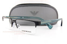 Brand New EMPORIO ARMANI Eyeglass Frames 1037 3115  Matte Black Men Size 53