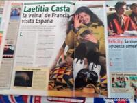 LAETITIA CASTA felicity    clippings