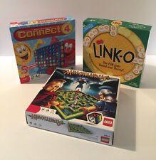 Kids Game Bundle: Lego Minotaurus - Connect 4 - Link-O
