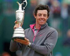 Rory McIlroy 2014 Open Championship Winner Trophy 10x8 Photo