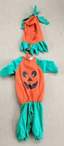 Baby Pumpkin Halloween Costume Infant Toddler With Stem Hat By Disguise
