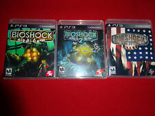 Empty Replacement Cases!   BioShock 1 2 Infinite Ultimate Sony PlayStation 3 PS3