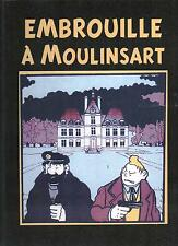 Tintin façon TARDI.  EMBROUILLE A MOULINSART. Album cartonné. Tirage limité