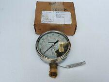 Enerpac Gf 50p Hydraulic Force Amp Pressure Gauge 10000 Psi Tons Lbs 12 Npt