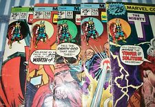 Lot of 5 The MIGHTY THOR comics #231, 240, 241, 244 & 248 low grade Avengers