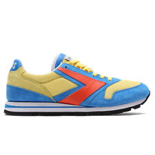 Brooks Chariot Shoes (9.5) Orangeade / Brilliant Blue / Primrose Yellow