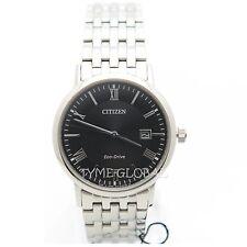 Citizen BM6770-51E Eco-Drive Sapphire Stainless Steel Black Dial Solar Watch