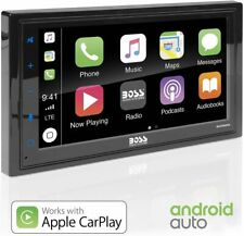 BOSS Audio BVCP9685A Apple Carplay Android Auto Car - Double Din, New, Free Ship