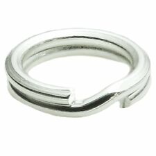 20 pcs Sterling Silver .925 Round Split Jump Rings Wire 6mm for Charm Connector