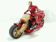 Marvel Avengers IRON MAN MOTORCYCLE w/ Action Figure Hasbro 2010