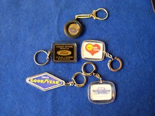 Liasse Shell Ford Goodyear Morris DKW f12 porte clés lot of Keychain