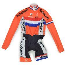 Bio Racer rabobank talla 164 14j, tiempo de conducción traje speedsuit Cycling skinsuit Race nuevo