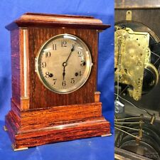 VINTAGE ANTIQUE USA SETH THOMAS 4 BELL SONORA CHIME CLOCK,DOUBLE MOVEMENT