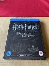 Harry Potter and the Deathly Hallows Part 2  Blu Ray Steelbook NEW & SEALED Rare