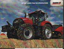 "CASE IH ""OPTUM Series"" Tractor Brochure Leaflet"