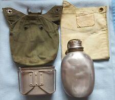 More details for british 1944 pattern jungle water bottle set
