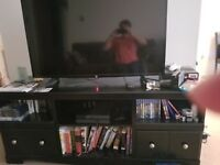 Ashley furniture tv stand with fireplace option
