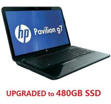 "HP Pavilion G7-2240US 17.3"" Laptop with 480GB SSD, Intel Core i3, 6GB RAM, Win 8"
