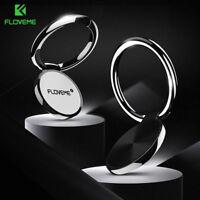 Universal Cell Phone Finger Grip Magnetic Car Holder Stand Mount Ring Bracket