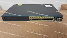 Cisco WS-C2960S-24TS-S IOS 15.2 (2a) E1 2960S-24TS-S Catalyst Switch Gigabit