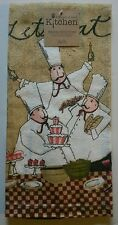 Kay Dee Designs Kitchen Terrycloth Dish Towel ~ Let's Eat Italian Chefs Pasta