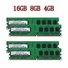 16GB 8GB 4GB 2GB DDR2-800MHz PC2-6400U 240pin Desktop intel RAM For Hynix Lot 02