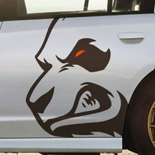 Dodge Angry Panda Side Ford Mustang Vehicle Graphic Decal Sticker Charger Truck