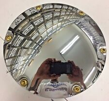 6 HOLE CHROME DOME BRASS BUTTON CLUTCH COVER 04 up XL SPORTSTER harley hd derby