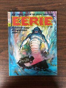 1966 Warren Magazine Eerie #3 Monstrous Fright May 1966