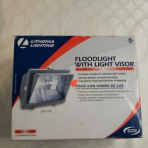 Lithonia Lighting Floodlight 300/500 Watt Quartz Halogen Security Light