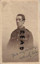 WW1 soldier Private William R Cole serving with an unknown regiment Stockton ?