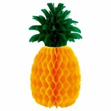 "Pineapple Honeycomb Table Centrepiece 12"" Tropical Hawaiian Party Decoration"