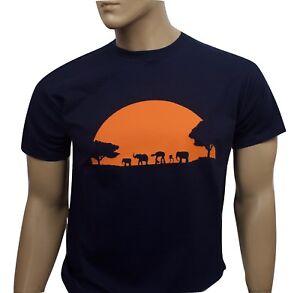 Star Wars inspired mens film t-shirt - Sunset
