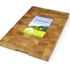 Wooden Chopping Board Rectangular End Grain 45cm x 30cm x 3.5cm heavy thick wood