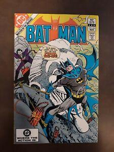 Batman #353 1982 JOKER c/app 16 page Master of the Universe preview!
