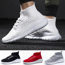 2020 Hot Mens Casual Walking Running Mesh Gym Sport Slip on Trainers Shoes Size