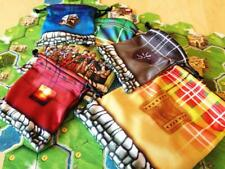 Clans of Caledonia Board Game - 5 Promo Drawstring Microfiber Bags - New Unused