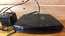 Westell VersaLink 4-Port Model 327W Wireless G Router/DSL Modem