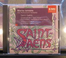 MARISS JANSONS OLSO PHILHARMONIC SAINT-SAENS EMI CD