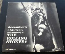 Keith Richards Rolling Stones Signed Autographed Decembers LP Beckett Certified