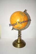 360° World Globe Earth Ocean Atlas With Stand Geography Educational