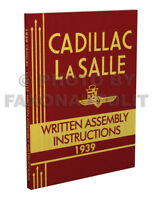 1939 Cadillac and LaSalle Factory Assembly Manual Written Instruction Book