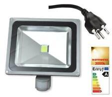 50w Bewegungsmelder Fluter Scheinwerfer 0.8 M kable + CH Stecker warmweiss LED .