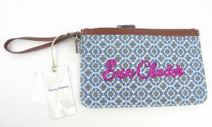 Tommy Bahama Boca Chica beach wristlet wallet clutch pouch accessory case TB1141