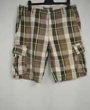 Herren Longshorts 2er Pack Beachshorts Webboxer Sommer Hose Shorts Karo M//L 5-6
